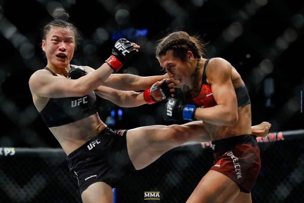 Muay Thai & MMA Zhang_Weili_x_Joanna