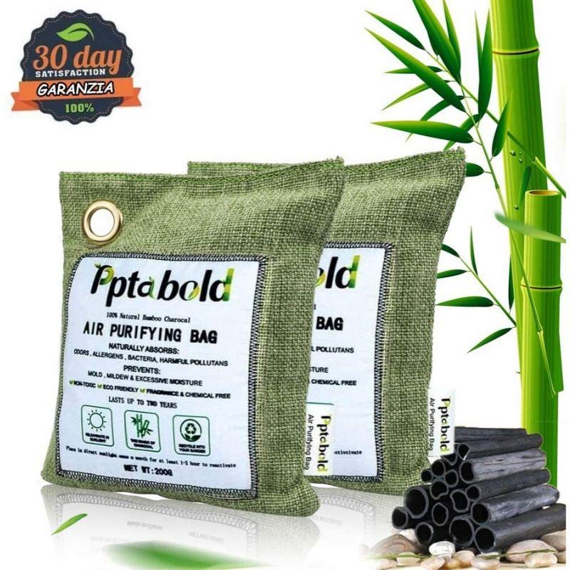 Carbone Attivo di Bambù