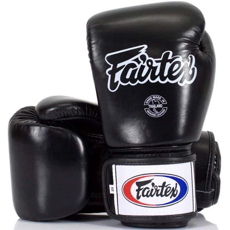 Guantoni da Boxe Fairtex BGV1 Solid Black