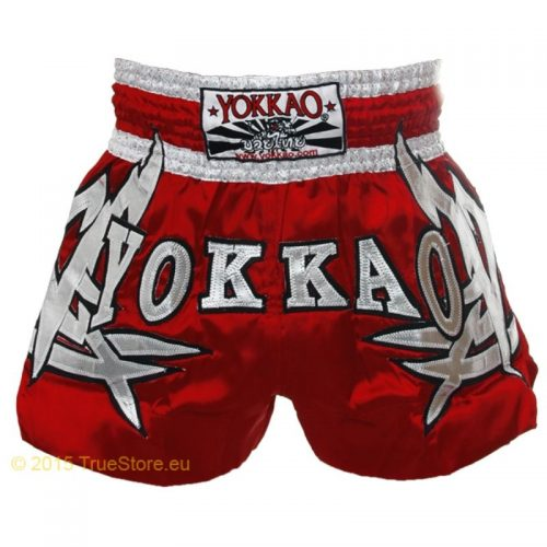 Pantalonci Yokkao da Muay Thai Red