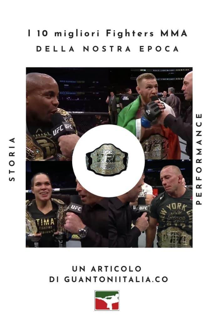 I 10 migliori Fighters MMA pinterest