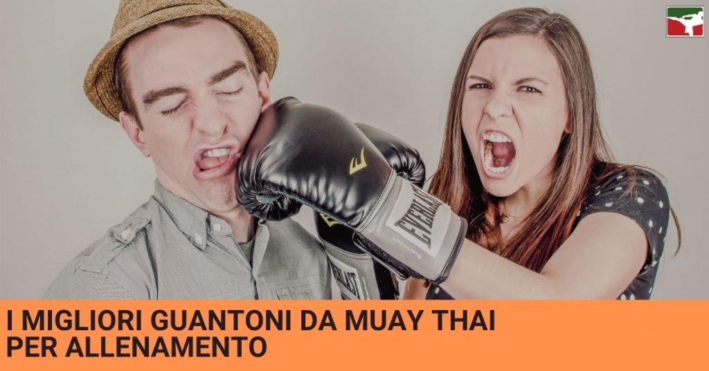 I migliori guantoni thai boxe da allenamento