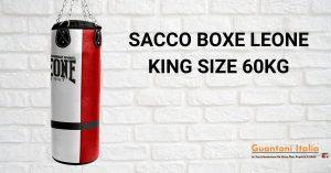 Sacco boxe leone king size 60 kg
