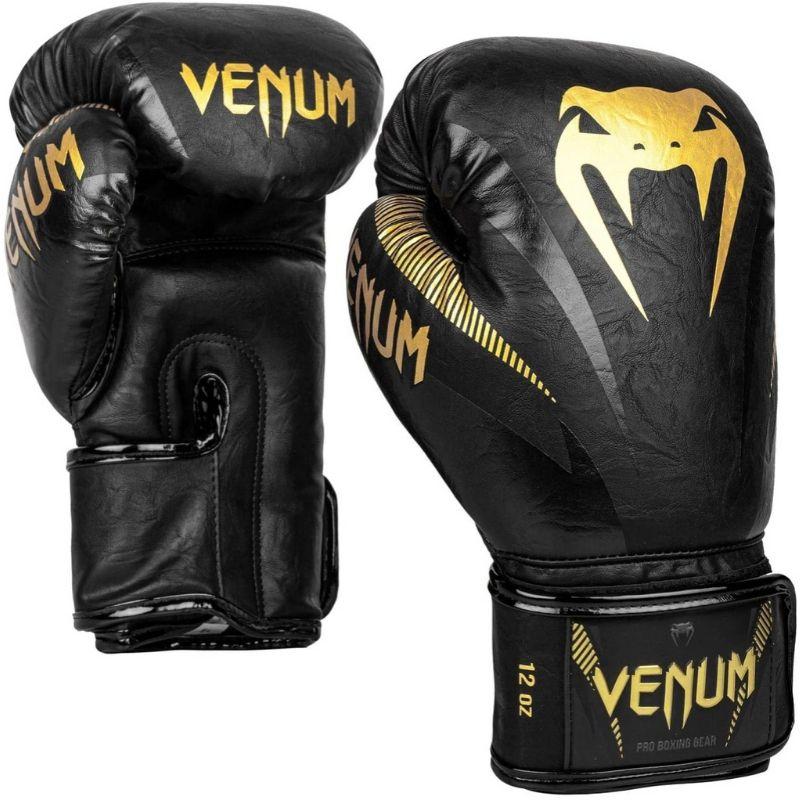 Guantoni da Boxe VENUM Impact Gold Green